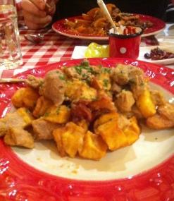 Kartoffeln mit Fleisch