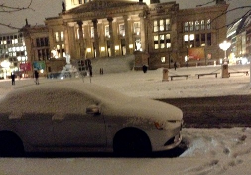 soviel Schnee