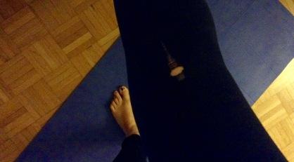 Yogasachen: Ups...ein Loch