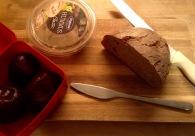 Brot schmieren für die Arbeit, bzw. als Frühstück
