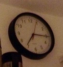 das sagt die Uhr