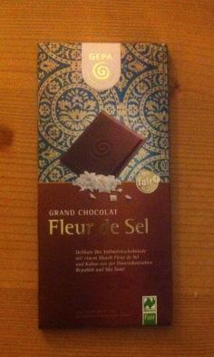 gekauft in der BioCompany: meine Lieblingsschokolade! (selten)