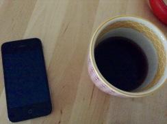 Kaffeebringservice an meinem Bett