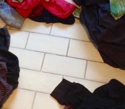 Wäsche waschen steht heute auf dem Programm