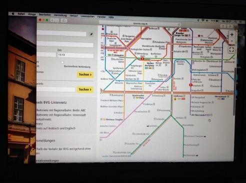 Wenn übersensible Menschen aus Spass(?) durch die Stadt fahren wollen, braucht es gute Planung: nicht jeder Bahnhof ist ein guter Bahnhof!
