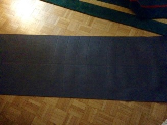 Yogamatte raus