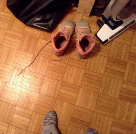 Schuhe aus...wieder zu Haus