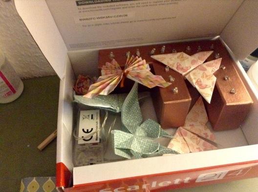 Päckchen vorbereiten ... Liebe Franzi...kannst du mir deine Adresse schicken, hab sie verloren und hätte hier was für dich ;) !