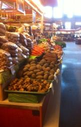 Gemüse frisch vom Feld