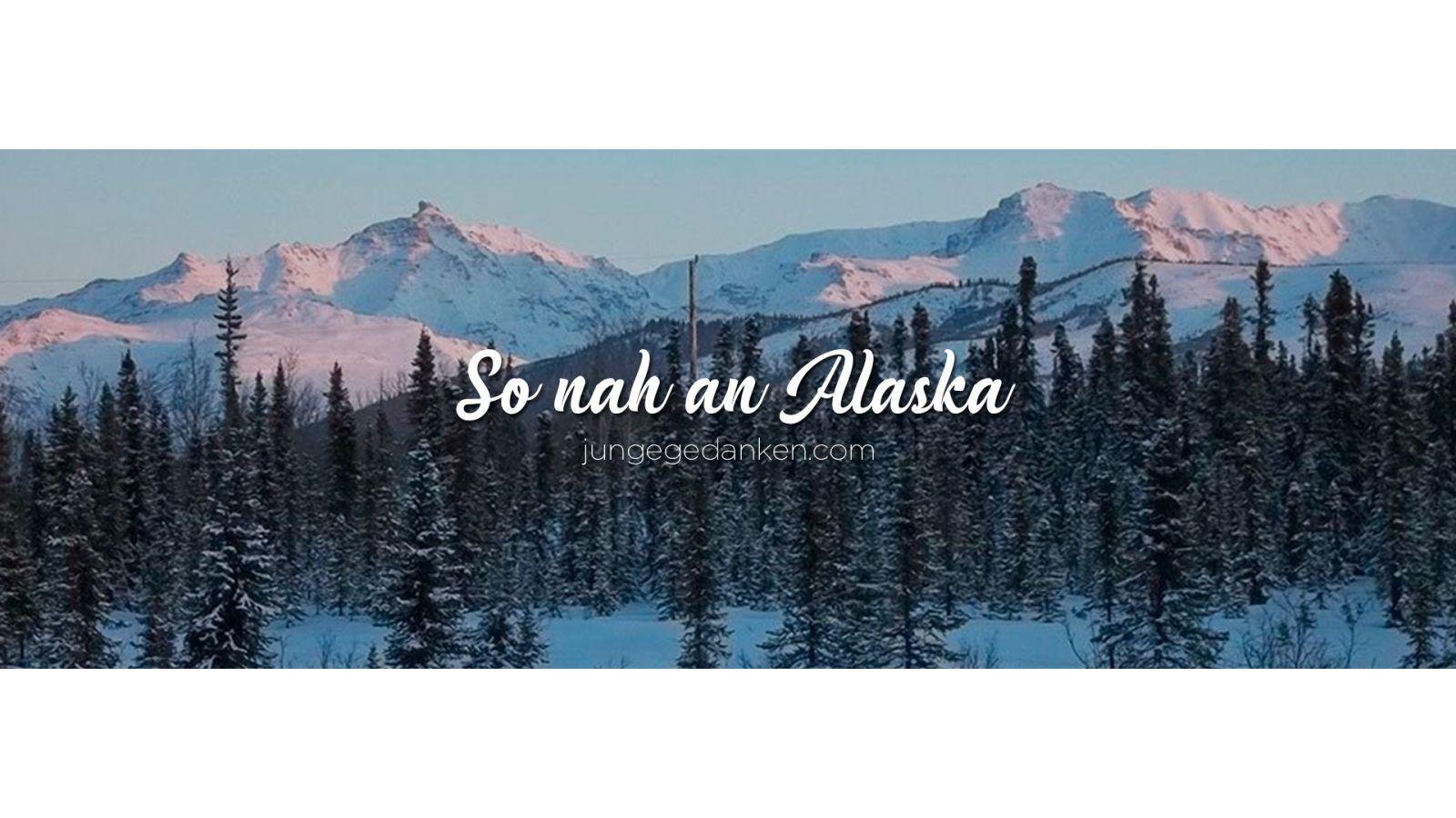 Aktuelle Zeit Verankerung Alaska