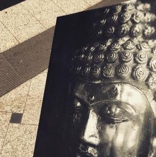 "24. Januar ""Heute mal mit Buddha unterwegs"""
