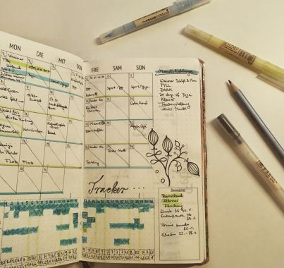 """5. Februar """"Das war der Januar! Ich habe meine Art gefunden, den #weekly zu nutzen! Danke #ellathebee dass ich wirklich der beste Kalender ever!"""""""