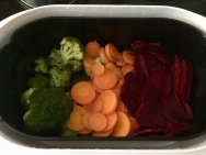 Gemüse vor dem Garen