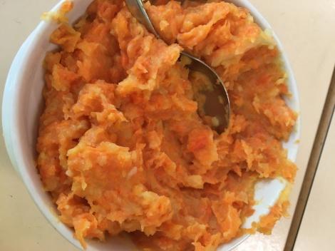 Süßkartoffelbrei