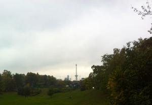 Blick zum Funkturm