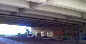 Unter der Mörschbrücke